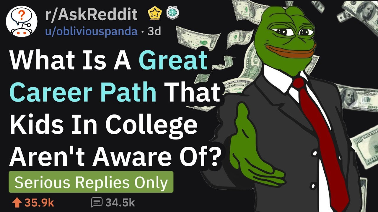 Download Great Career Paths That Many Don't Know About (r/AskReddit)