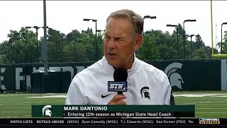 BTN Bus Tour: Mark Dantonio | Michigan State Spartans | Big Ten Football