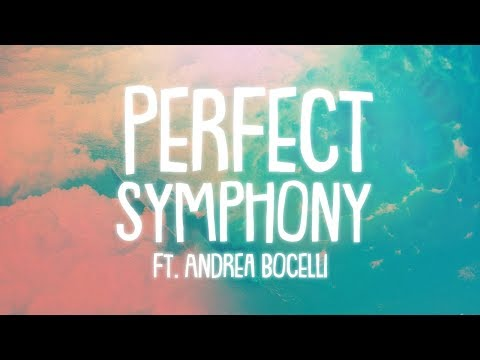 Ed Sheeran  Perfect Symphony Lyrics  Lyric  ft Andrea Bocelli