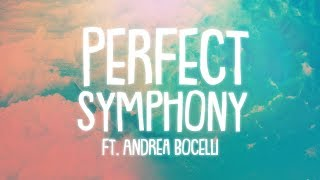 Ed Sheeran Perfect Symphony Lyrics Lyric Video ft Andrea