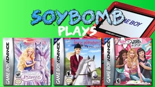 SoyBomb Plays: ...Oh No, Not More Barbie Games!! (Game Boy Advance)