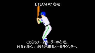 Ver3.2に追加される打者です。 いずれも在京球団と思われしチームのチー...
