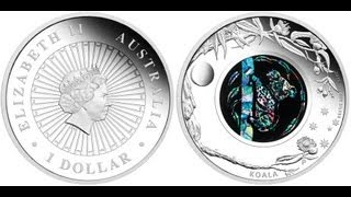 Opal Silver Coin Upcoming Release August 2012 Wombat Design