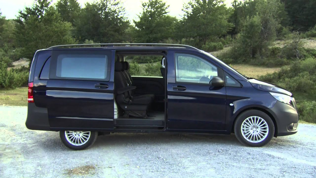2015 mercedes benz vito mixto 119 bluetec interior and exterior youtube. Black Bedroom Furniture Sets. Home Design Ideas