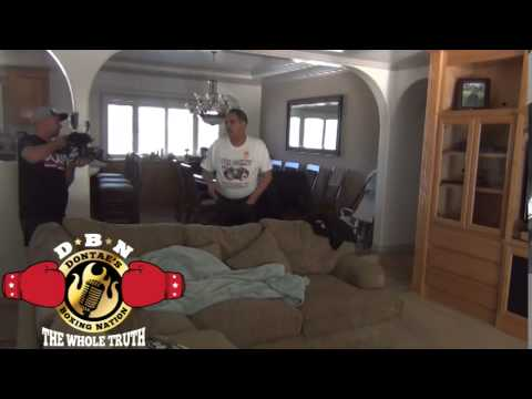 ALL ACCESS TO GENNADY GOLOVKIN'S LIVING QUARTERS & TRAINING CAMP