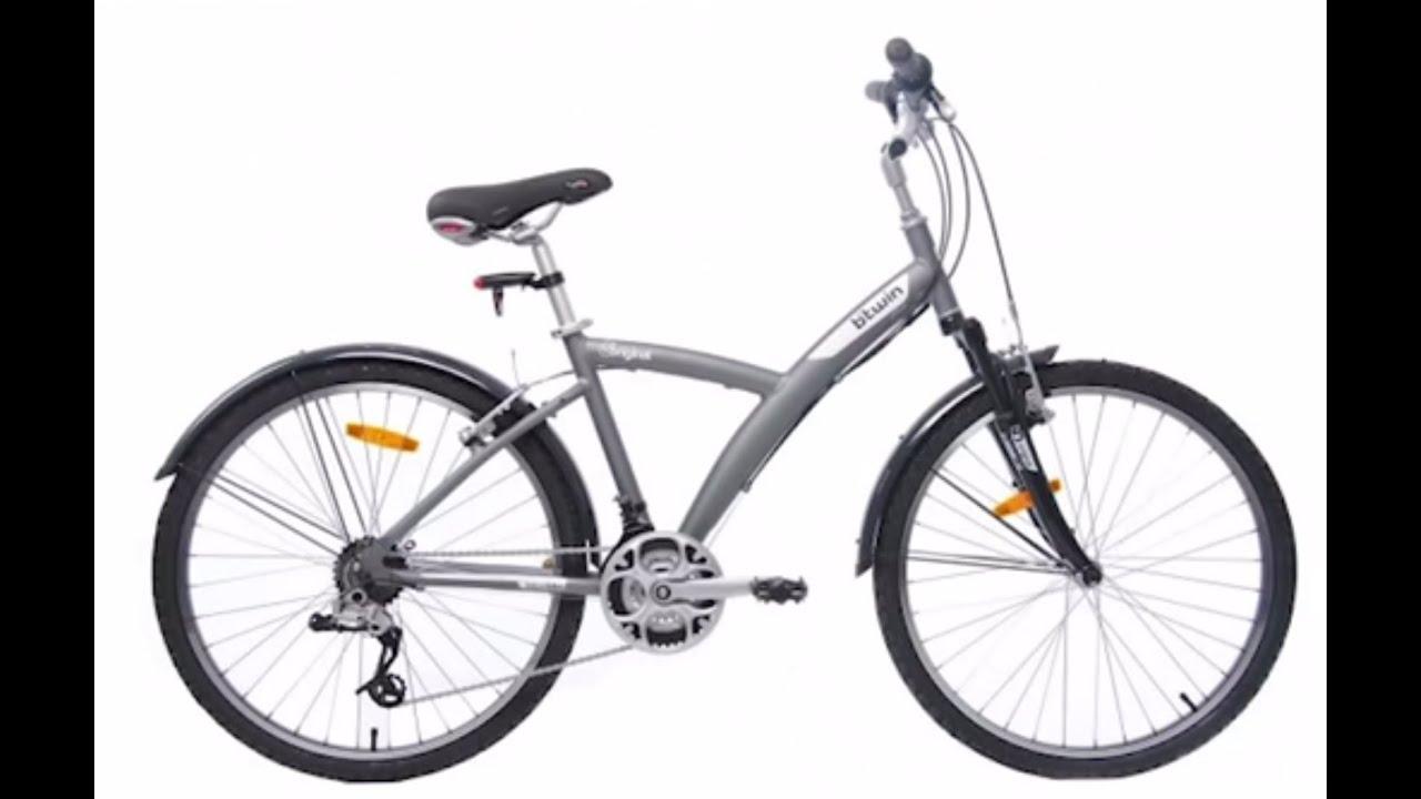 Hybrid bike original 500 btwin velo tout chemin - Velo a decathlon ...