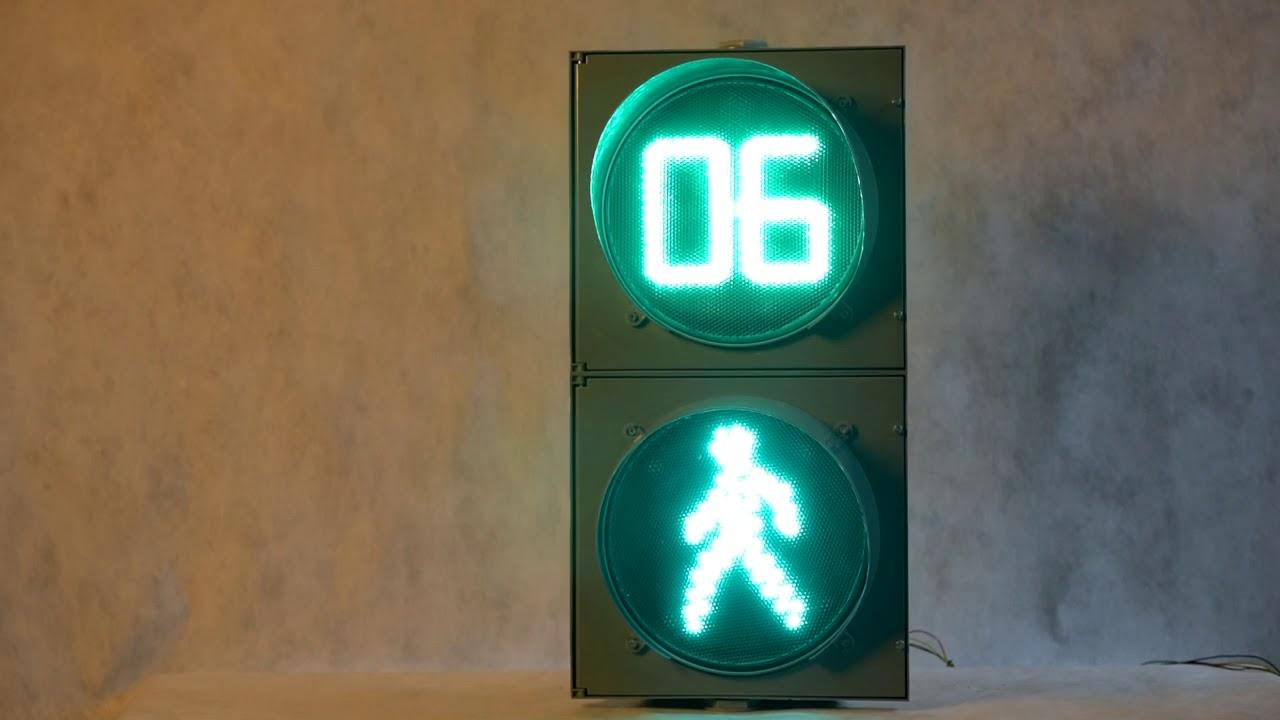 густомахровые анимация светофора с обратным отсчетом может