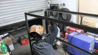 Aquarium Stand Time Lapse Welding