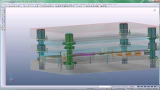 VISI Progress- Produktvideo ''Einbau von Normalien aus der Bauteilbibliothek''