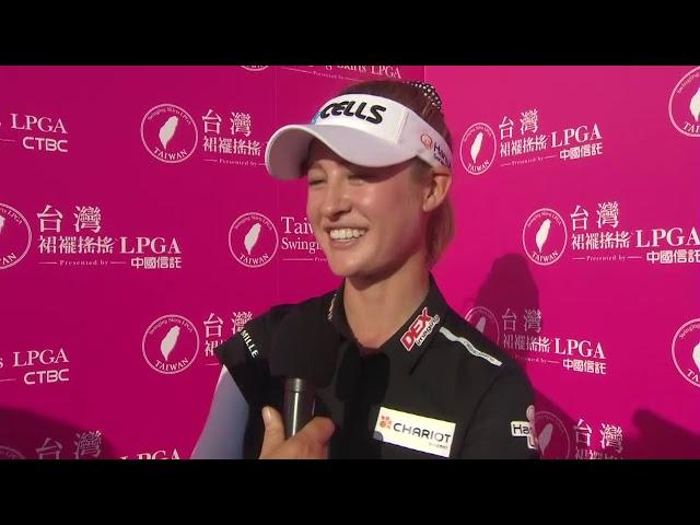 Nelly Korda Third Round Highlights in the 2019 Taiwan Swinging Skirts LPGA