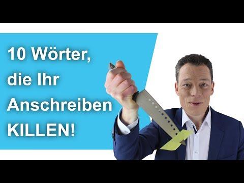 Bewerbungsschreiben: Diese 10 Wörter KILLEN Deinen Erfolg (nie In Die Bewerbung Schreiben!)