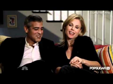 George Clooney in Bed With Modern Family