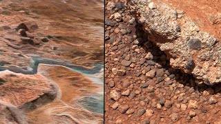 Stones formed by Water Stream on Mars spotted by NASA's Curiosity Rover