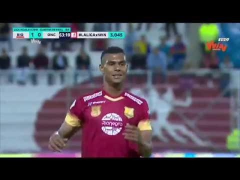 Rionegro vs. Once Caldas (1-0) Liga Aguila 2018-II | Cuartos de final Ida