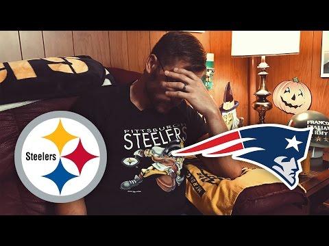 Dad Reacts to Steelers vs Patriots (Week 7)