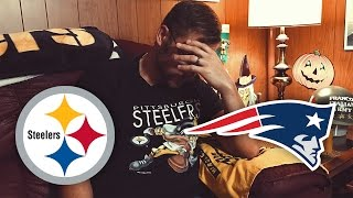 Dad Reacts to Steelers vs Patriots (Week 7)