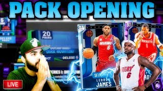 PACK OPENING LIVE! DIAMOND LEBRON & AMETHYST TRACY MCGRADY COME HOME! NBA 2K20 MYTEAM thumbnail
