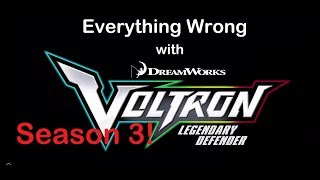 Everything Wrong with Voltron: Legendary Defender Seson 3 Episode 3
