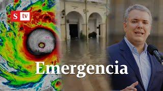 EN VIVO: Iván Duque llega a San Andrés, se prepara ayuda humanitaria y más | Semana Noticias