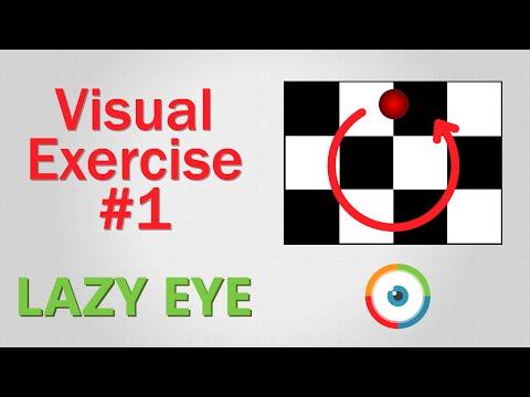 Lazy Eye Exercise #01