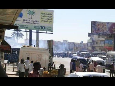 الشرطة السودانية تطلق الغاز المسيل للدموع على متظاهرين  - 16:54-2019 / 1 / 13