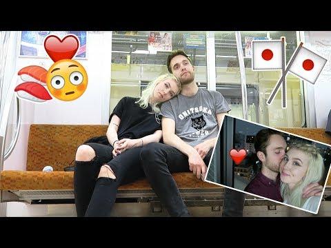 My Boyfriends First night in Tokyo ❤ Showing him Around