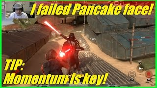 Star Wars Battlefront - Tip: Momentum is key! | I failed Pancake Face! (Down 0-3)