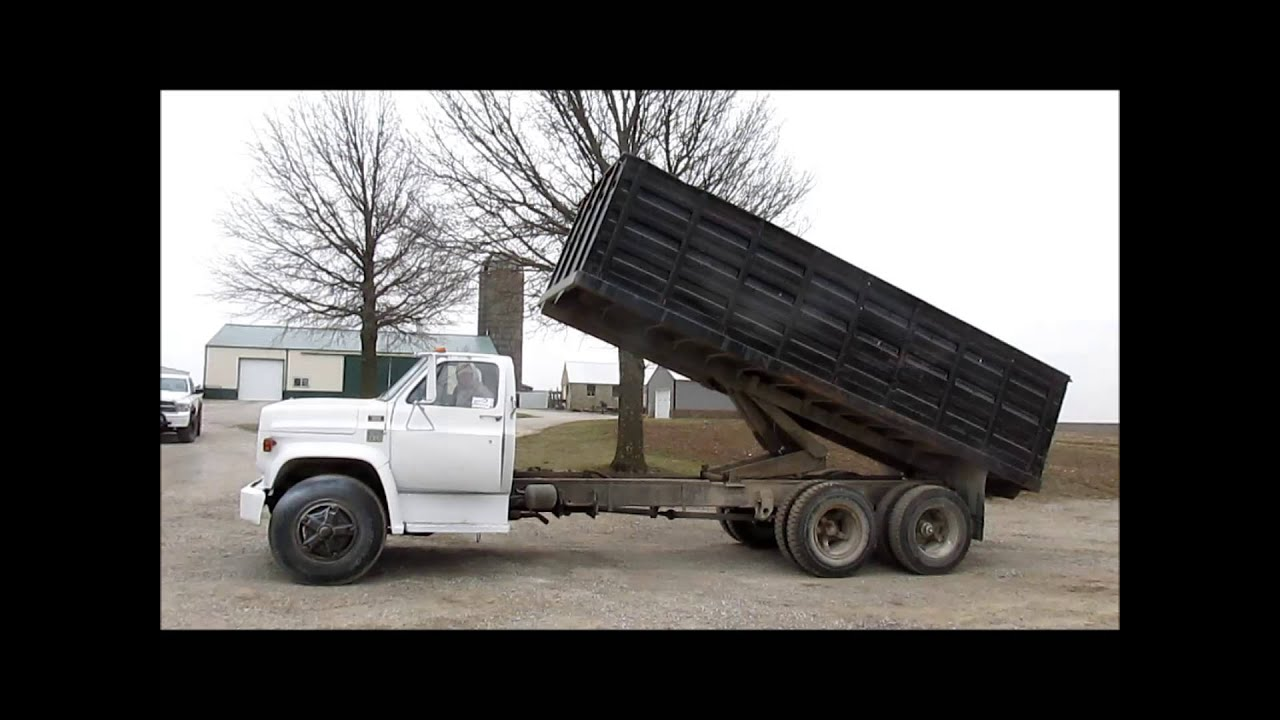 Heavy Tow Truck For Sale >> 1976 Chevrolet C70 grain truck for sale | sold at auction April 24, 2013 - YouTube