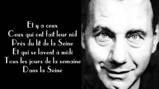 Francis Lemarque - A Paris [Subtitled]