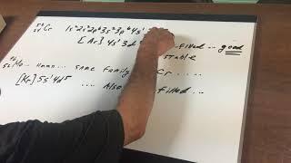 Electron Configuration - ORGOMAN - DAT DESTROYER - Dr. Jim Romano