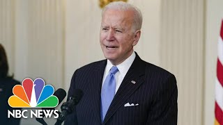Biden, Senate Democrats Reach Deal On Limits For Stimulus Checks | NBC News NOW