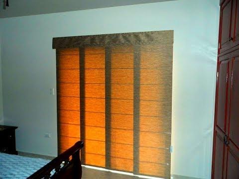 Persianas panel japon s verona decoraci n by verona - Tipos de persianas enrollables ...