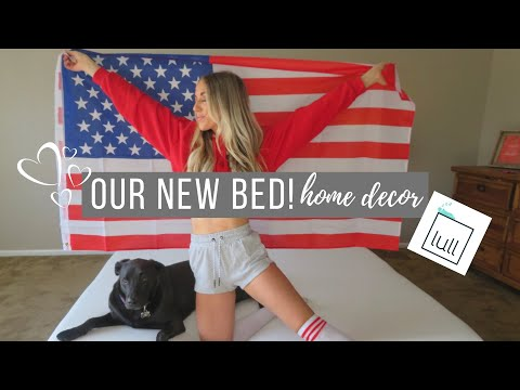 OUR NEW BED!! | Lull Mattress Review