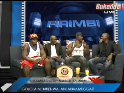 Golola Moses Fights in Studio on Bukedde TV