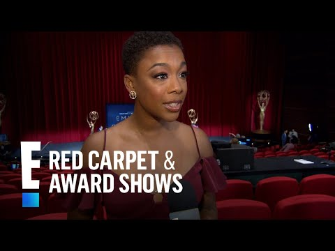 Samira Wiley Reacts to Her 2018 Emmy Awards Nom  E! Live from the Red Carpet