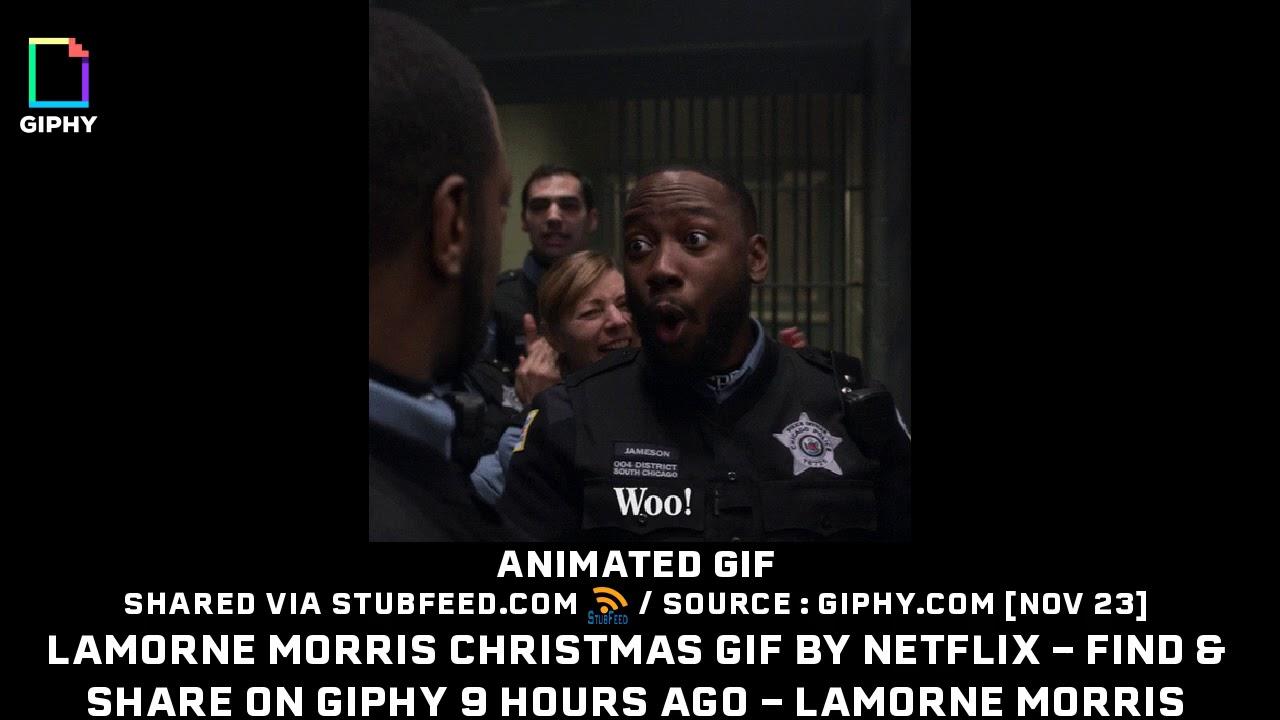 c79ee72a9f44b Lamorne Morris Christmas GIF by NETFLIX ... - YouTube