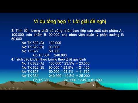Ke Toan Tai Chinh 2 P11 Tính Giá Thành Theo PP Giản đơn