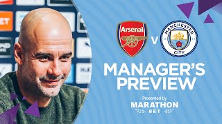 'FODEN'S TIME IS COMING'  | PEP'S PRESS CONFERENCE | ARSENAL v MAN CITY