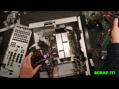 Scrap it out for cash? #1  Yamaha Receiver E-waste