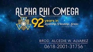 APO RAA: Celebrates 92nd Anniversary of Alpha Phi Omega