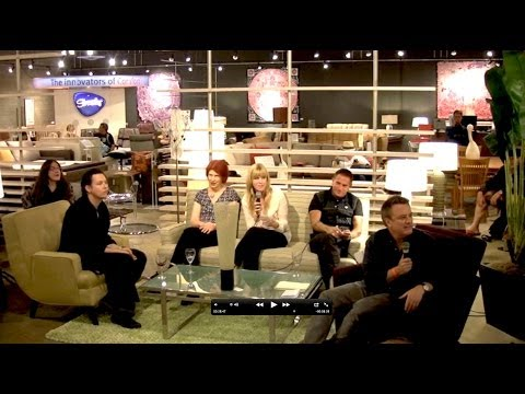 Art Panel Discussion. Ulrich, Korn, Romain, Piatt. MichealKate Interiors & Art Gallery