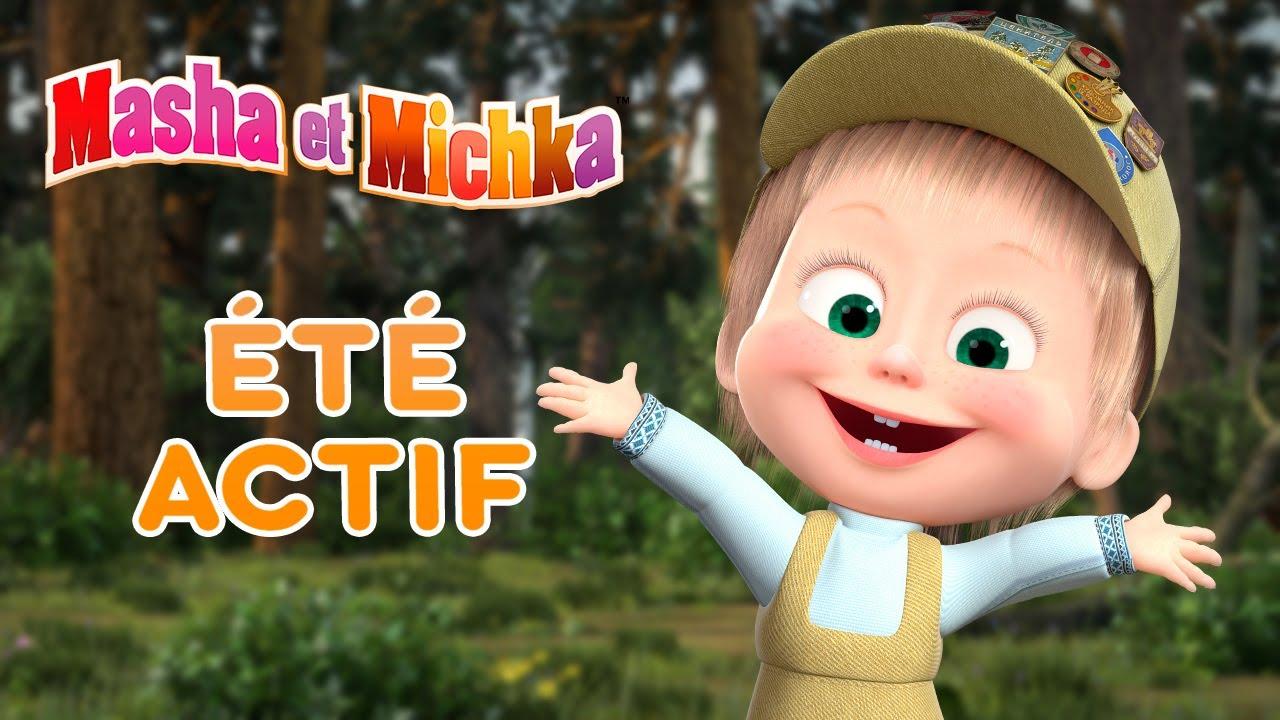 Masha et Michka🚴🥇 Été actif 🚴🥇 Collection d'épisodes ☀️ Masha and the Bear