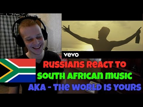 RUSSIANS REACT TO SOUTH AFRICAN MUSIC   AKA - The World Is Yours   REACTION