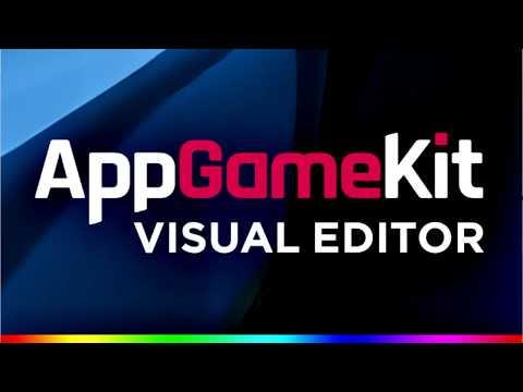 AppGameKit VisualEditor Tour