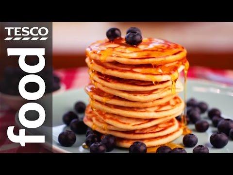 How To Make American Pancakes | Tesco Food
