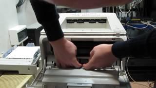 Замена роликов захвата бумаги в принтерах Samsung 2250, Xerox 3150, MB 521