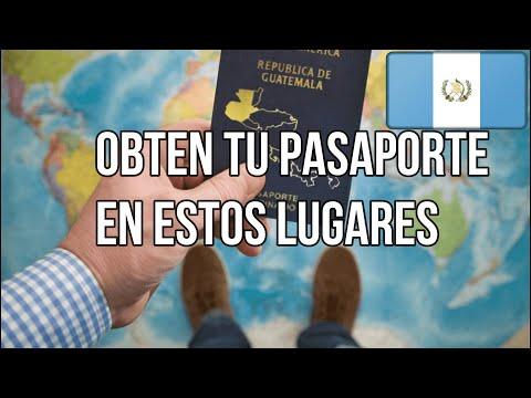 Top 4 sedes para tramitar tu pasaporte en Guatemala.