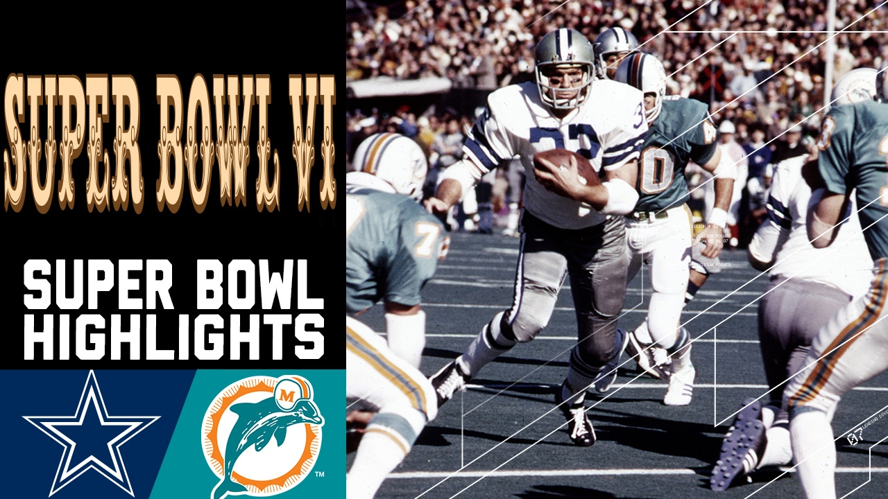 Super Bowl VI Recap: Cowboys vs. Dolphins | NFL - YouTube