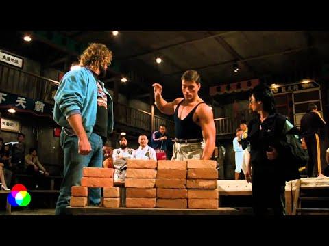 """х/ф """"Кровавый спорт"""" 1988г.  - Дюкс проходит квалификацию к допуску на соревнования."""