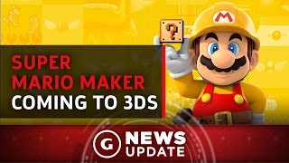 Super Mario Maker Coming to 3DS - GS News Update